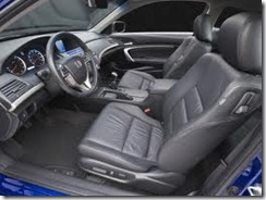 Honda Accord 2011 interior