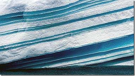Striped Icebergs - Amazing Nature Photos (7)