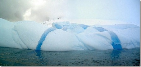 Striped Icebergs - Amazing Nature Photos