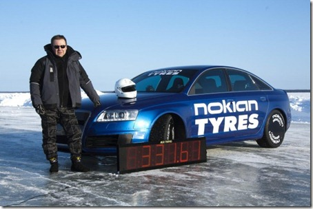 Nokian-tires-on-Audi-RS6-sets-ice-speed-world-record