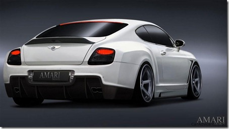 Bentley Continental GT Evolution by Amari Design