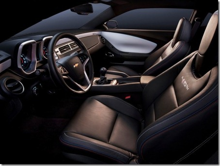 2012-Chevrolet-Camaro-45th-Anniversary-Edition-Interior