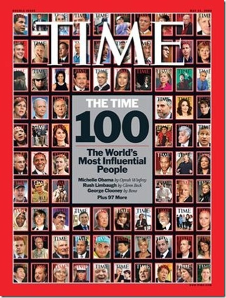 Most Influential People List 2011