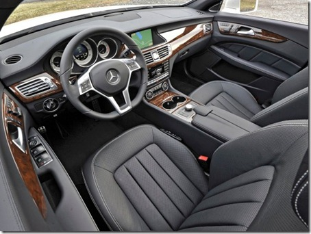 2012-Mercedes-Benz-CLS550-Interior-View