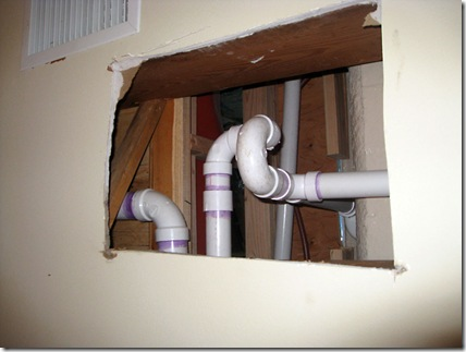 pipes in ceiling