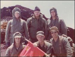Climbing Mt Fuji July 4 1976 3