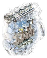Двигатель внутреннего сгорарания
