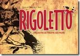 Flyer da ópera Rigoletto