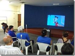 foto de pessoas assistindo a Mostra