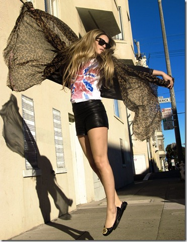 leopard fashionising