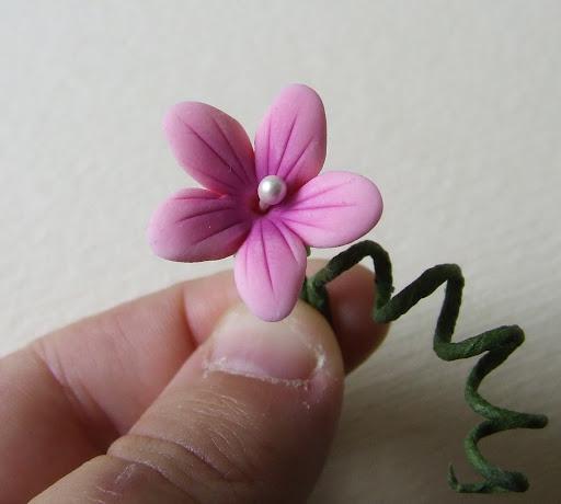 spesso Muccasbronza: Tutorial fiore senza stampi VR86