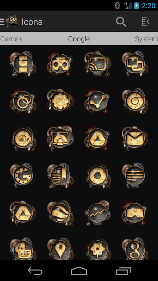 Tha Steampunk - Icon Pack Screenshot 1