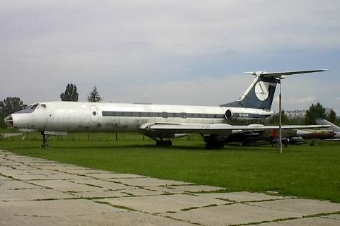 Tupolew Tu-134A. Muzeum Lotnictwa, Kraków, 2003.