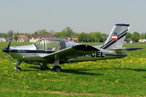 Samolot Morane 880B (SP-CEL).