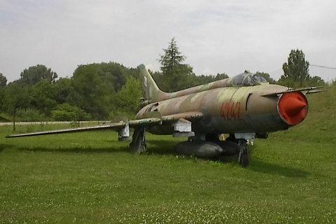 Suchoj Su-20 Fitter (Su-17M), samolot.