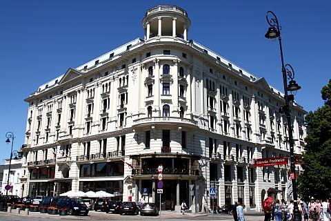 Hotel Bristol, Warszawa, Krakowskie Przedmieście 42/44.
