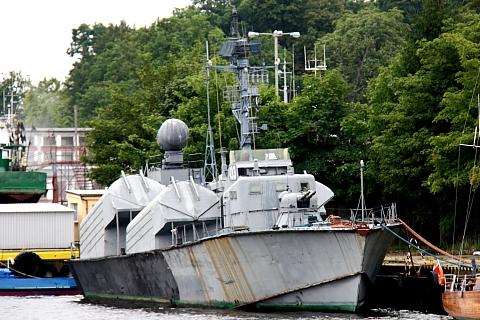 Mały okręt rakietowy projektu 205 (NATO: Osa I).