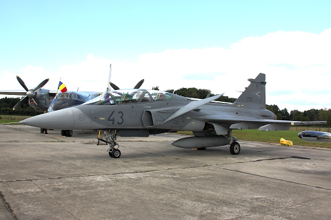 Saab JAS-39D Gripen.