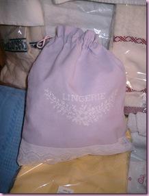 sacchetto lingerie lino
