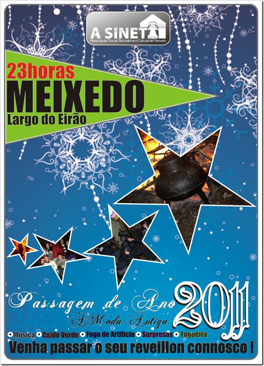 cartaz da associação a sineta
