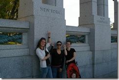Suzanne, Danielle, me NY