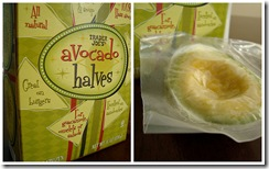 Trader Joe's avocado halves