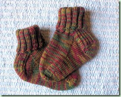 Rosebud Fourth Socks