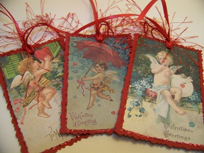 Valentine Tags 1 - Red - 2nd 3