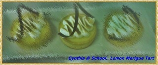 lemon merigue tart