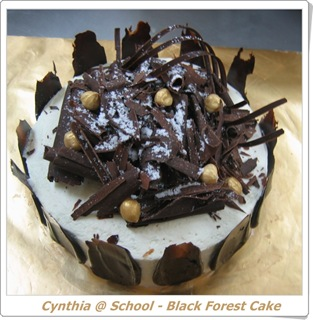 blog - black forest cake