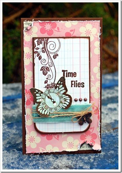 Time Flies rosa