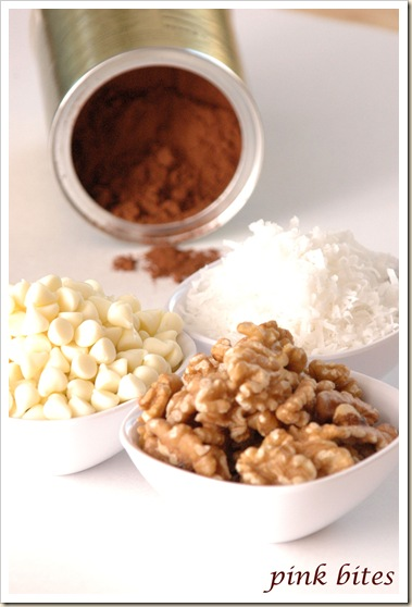 double choc coconut ingredients
