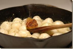 onion tart prep