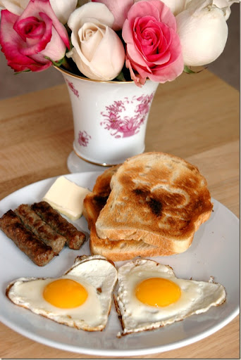 A Valentine's Day Breakfast Idea