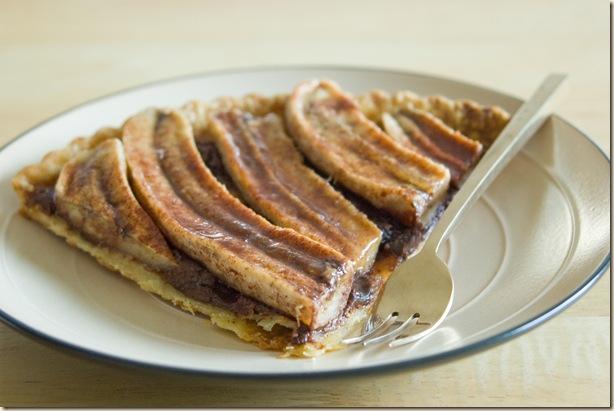 banana choc tart 3