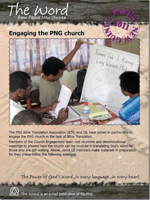 2011-01-19 Engaging the PNG Church
