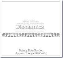 Dainty Dots Border Die-namicsSMALL