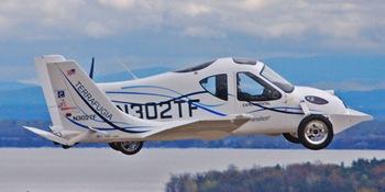 Terrafugia in flight