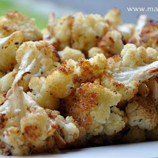 Garlic Lover's Roasted Cauliflower