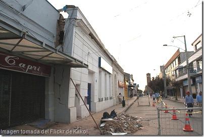 Linares tras terremoto
