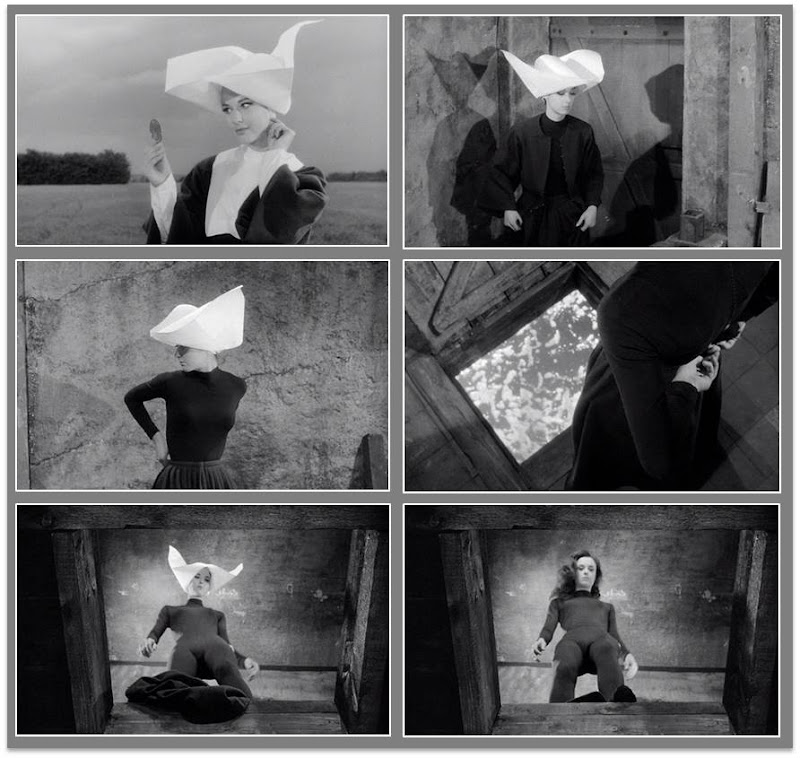 Judex - Georges Franju - Francine Bergé - Strip tease nonne