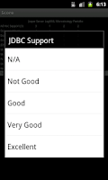 Screenshot of JSC Quick Eval