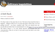 Software Iinquisition site