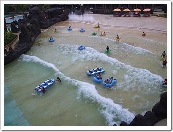 Wisata air - water park pandawa lima solo