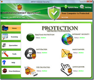 ARTAV - Antivirus dan Internet Security