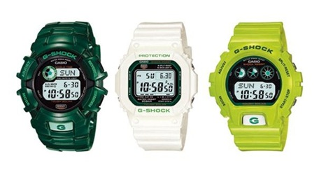 G-SHOCK - Jam tangan rama lingkungan