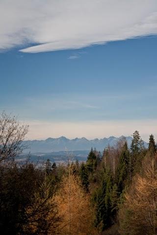 ... výhľad na Vysoké Tatry ...
