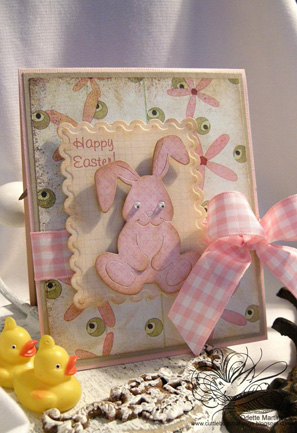 "Easter Bunny is popping up at ""Be Inspired #78"" with fabulous cards ideas!"