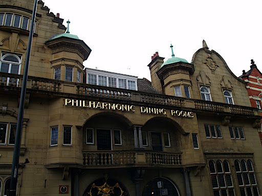 The famous Philharmonic Dining Rooms