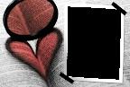 coração no livro